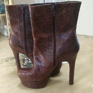 Jessica Simpson Boots,.   half boot